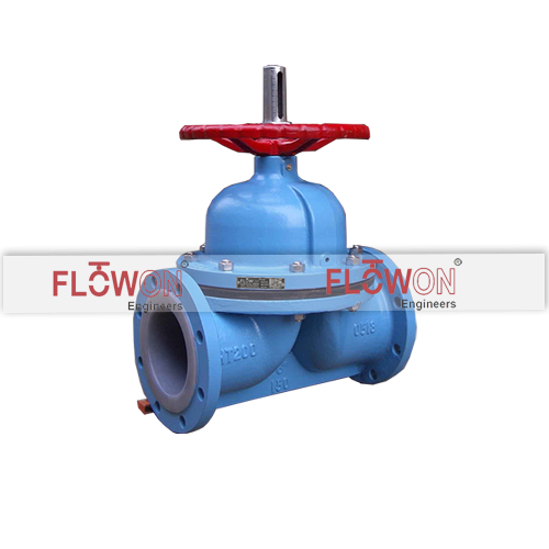 lined diaphragm valve
