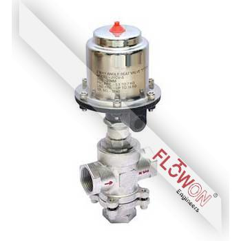 mixing diverting control valve